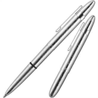 Fisher Space Pen Børstet Chrome med clip